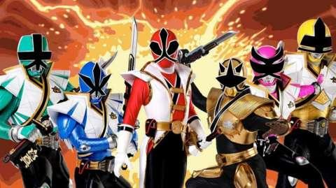 Power Rangers Super Samurai 9