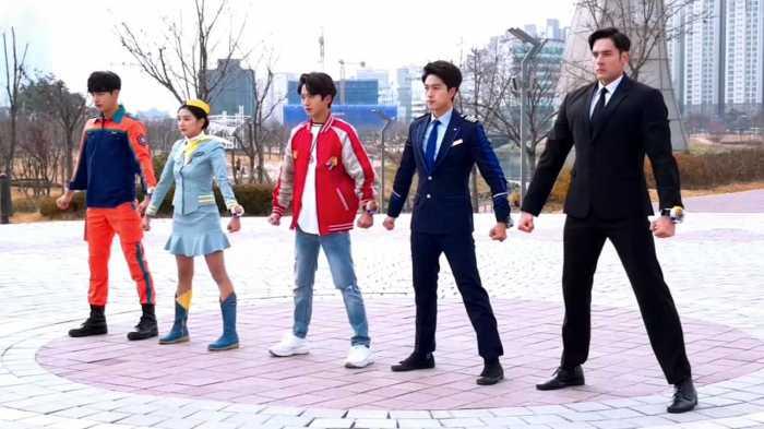 X Garion Power Rangers Korea Net