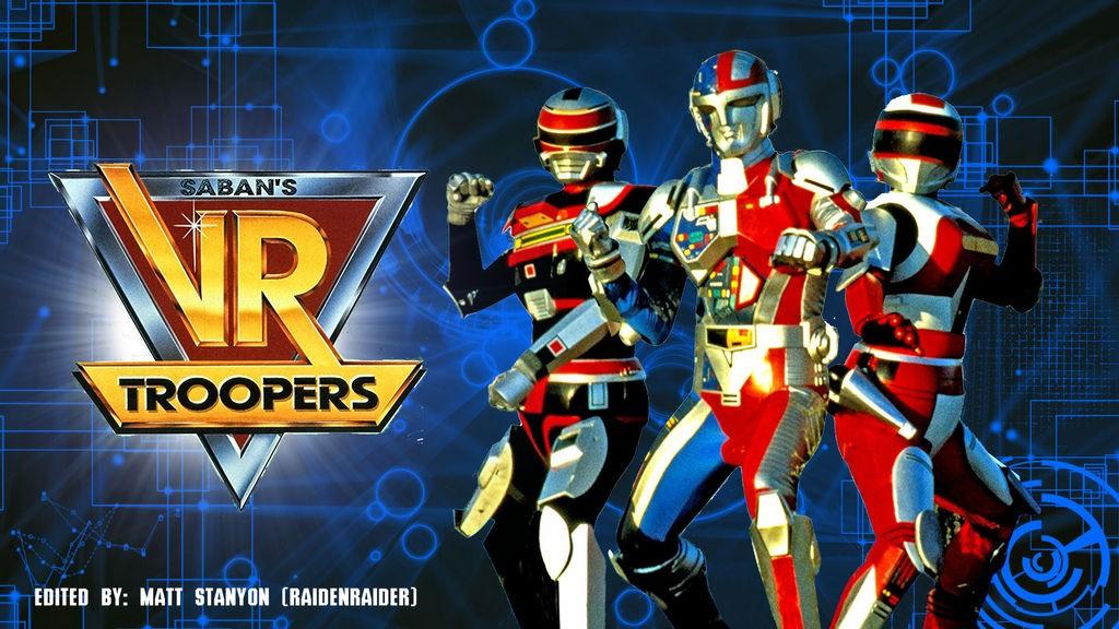 Saban S Vr Troopers Season 1 Fan Poster 1 By Raidenraider Dbm0ood Fullview