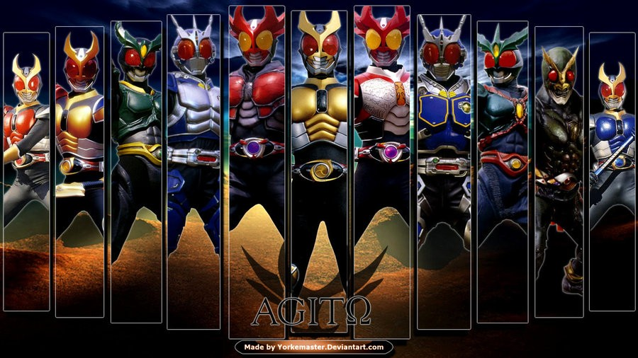 2001 Kamen Rider Agito Special A New Transformation 1