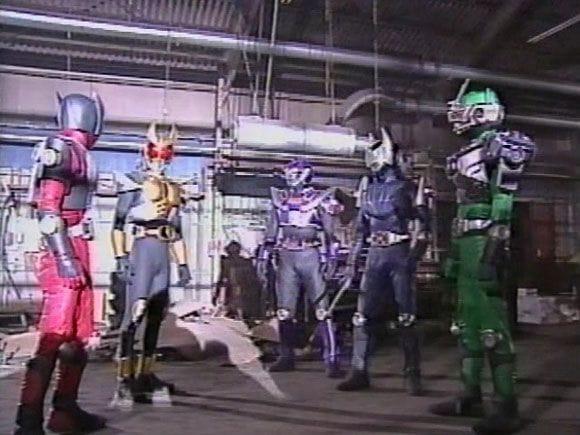 580full Kamen Rider Ryuki Ryuki Vs. Kamen Rider Agito Screenshot (2)