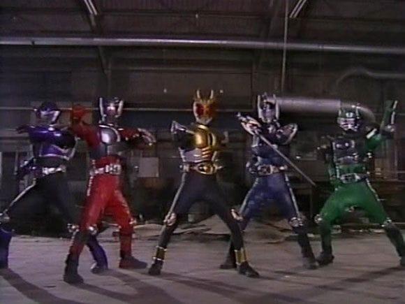 580full Kamen Rider Ryuki Ryuki Vs. Kamen Rider Agito Screenshot