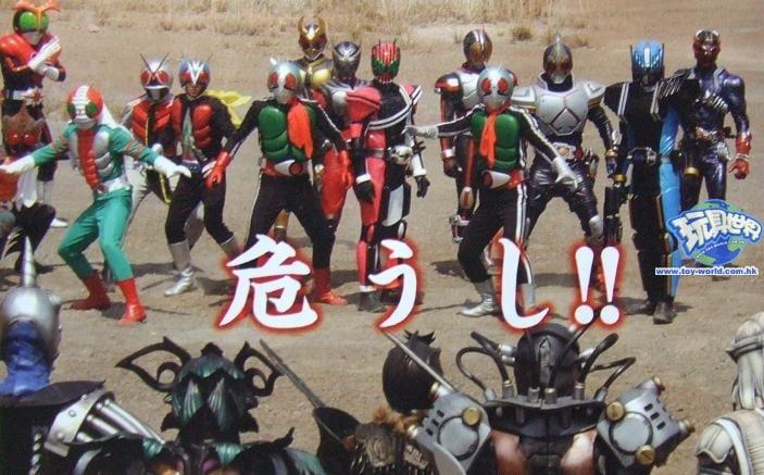 703full Kamen Rider Decade All Riders Vs. Dai Shocker Screenshot