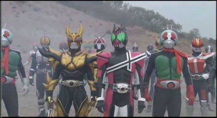704full Kamen Rider Decade All Riders Vs. Dai Shocker Screenshot