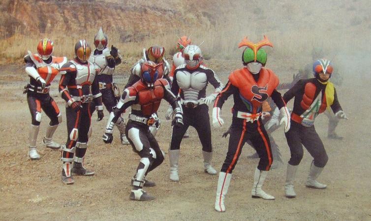 754full Kamen Rider Decade All Riders Vs. Dai Shocker Screenshot