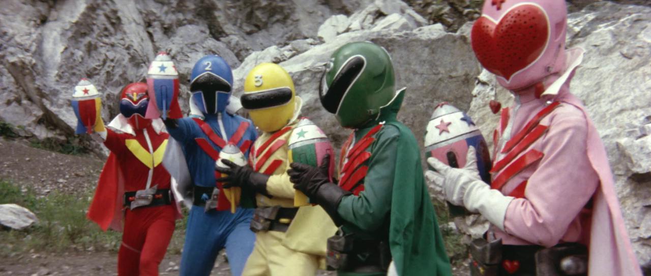 Himitsu Sentai Gorenger The Movie The Bomb Hurricane 1