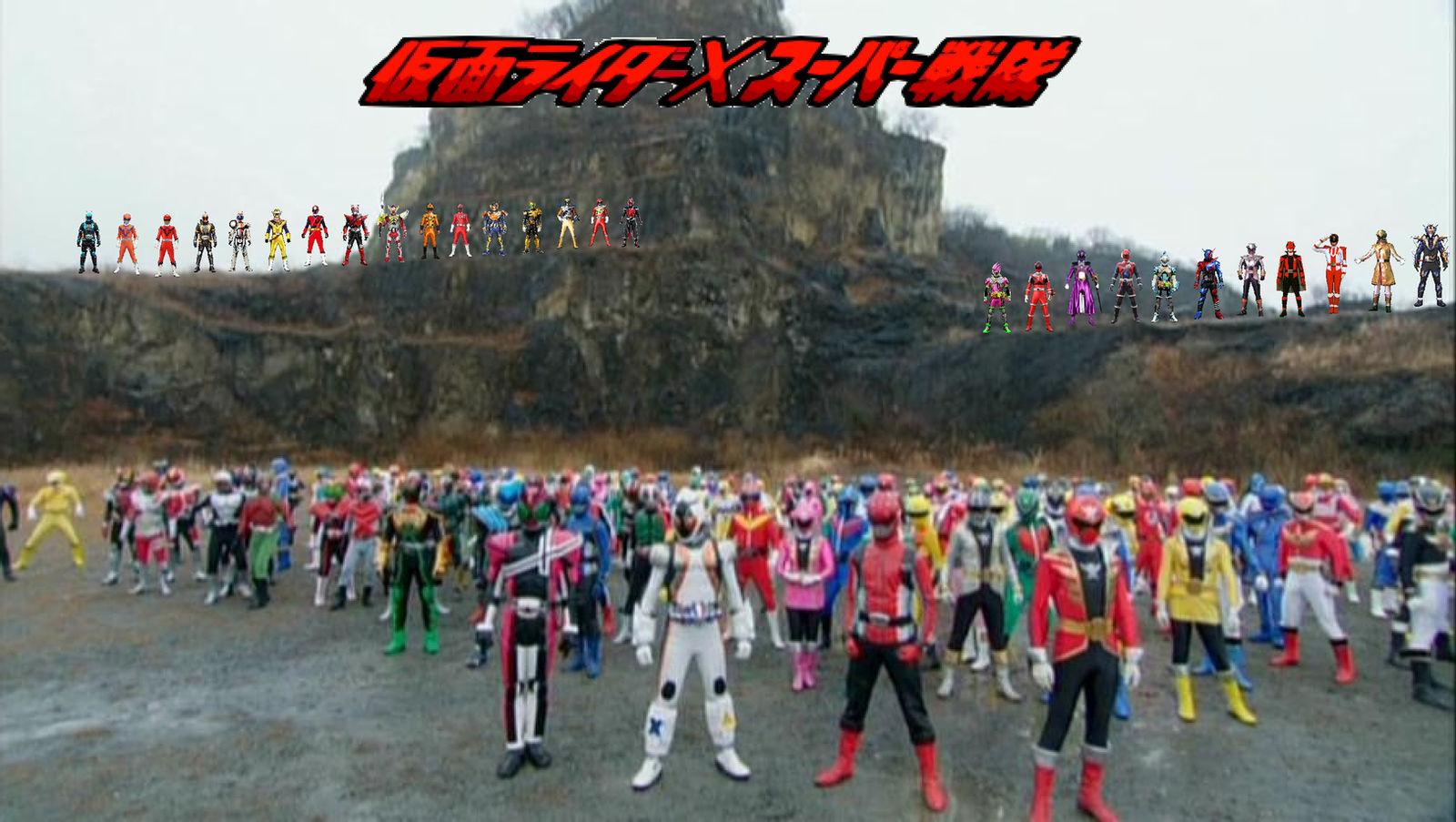 Kamen Rider X Super Sentai Super Hero Taisen Alpha By Triadsentuary Dcf1tt2 Fullview