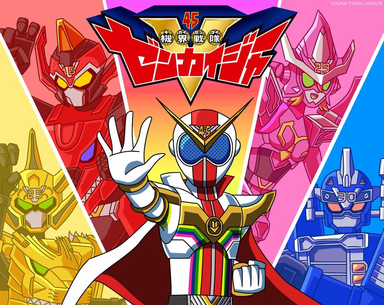 Kikai Sentai Zenkaiger By Darktidalwave Dec85af Fullview