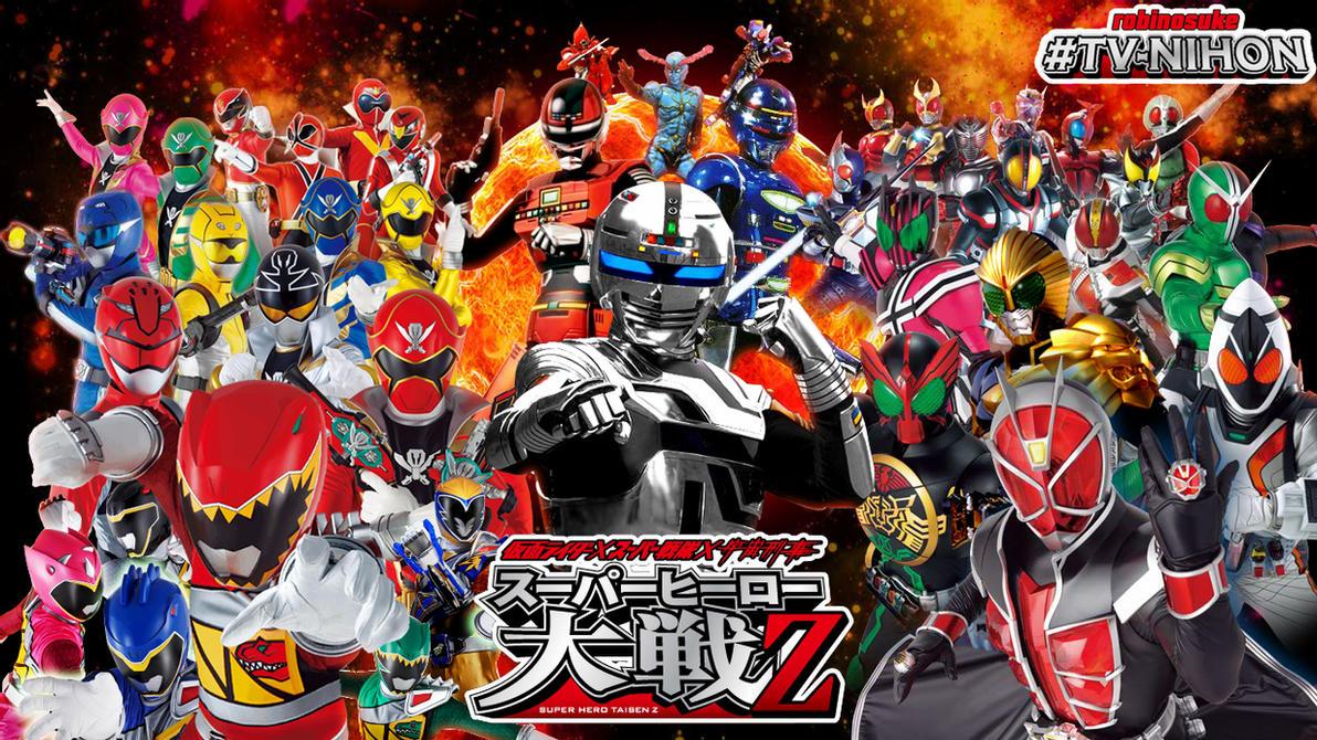 Super Hero Taisen Z Splash By Robinosuke D6lhcgc