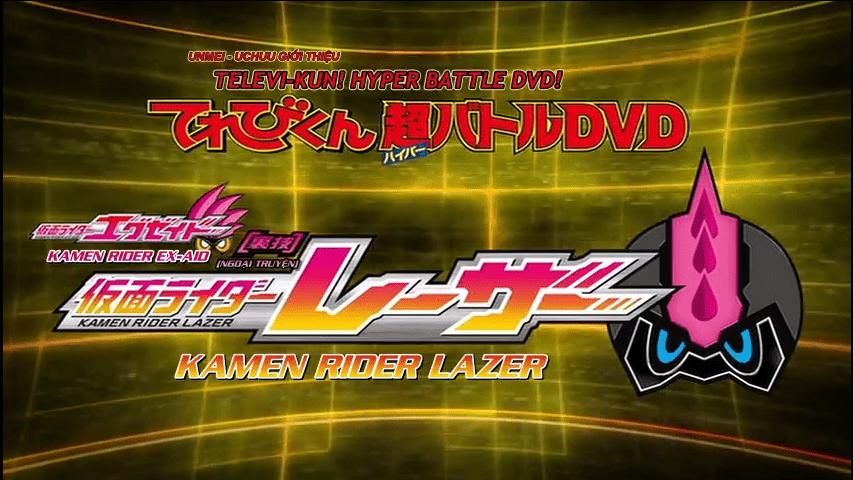 2017 Kamen Rider Ex Aid Tricks – Kamen Rider Lazer 1