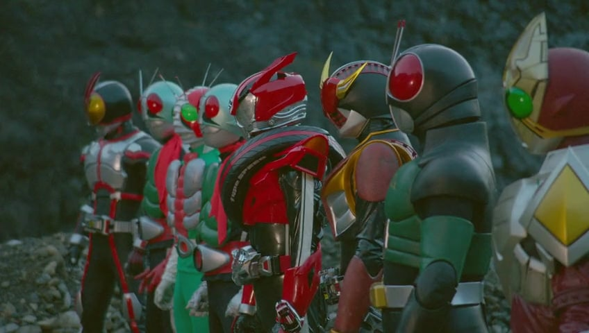 848full Super Hero Taisen Gp Kamen Rider 3 Screenshot