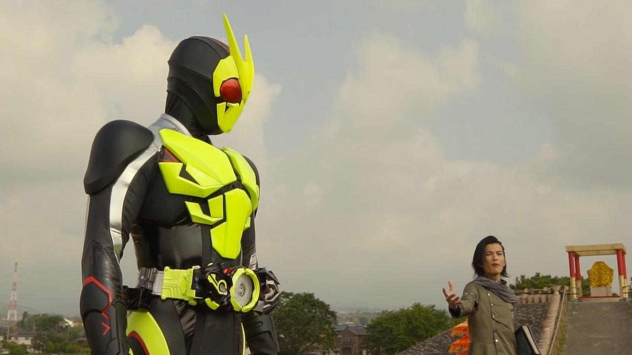 Kamen Rider Zi O Over Quartzer Zero One