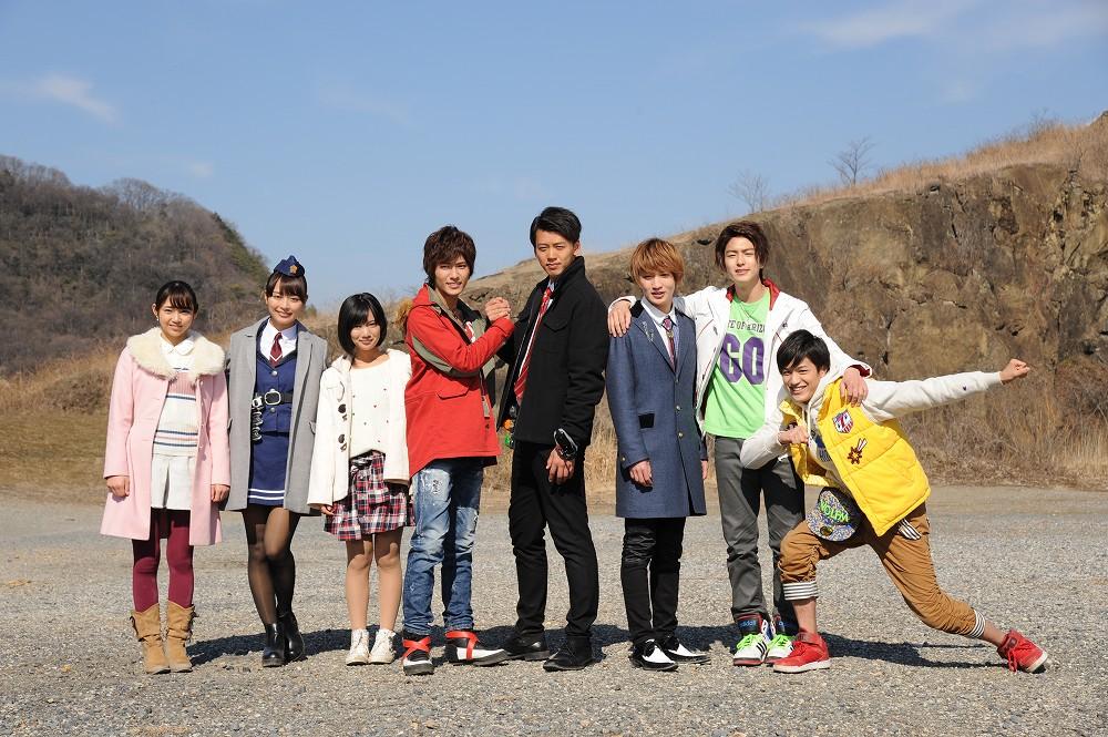 1000full Shuriken Sentai Ninninger Vs. Kamen Rider Drive Spring Break Combined Special Photo