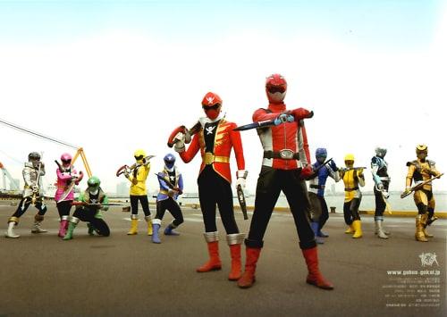 500full Tokumei Sentai Go Busters Vs Kaizoku Sentai Gokaiger The Movie Photo