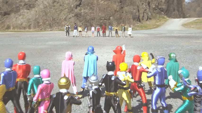 854full Gokaiger Goseiger Super Sentai 199 Hero Great Battle Screenshot