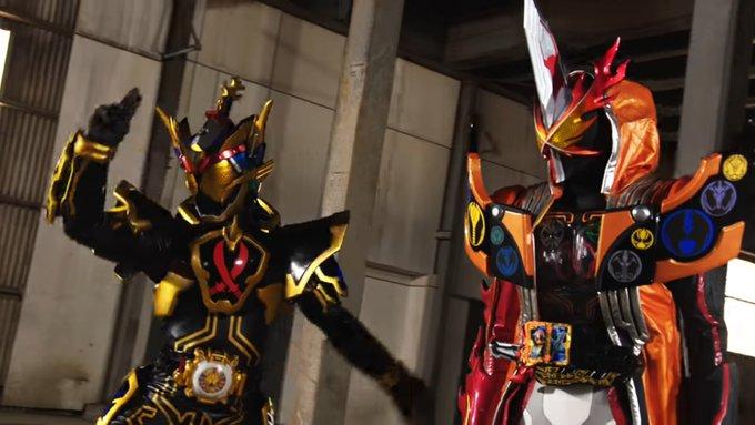 Kamen Rider Saber X Kamen Rider Ghost 2 (1)