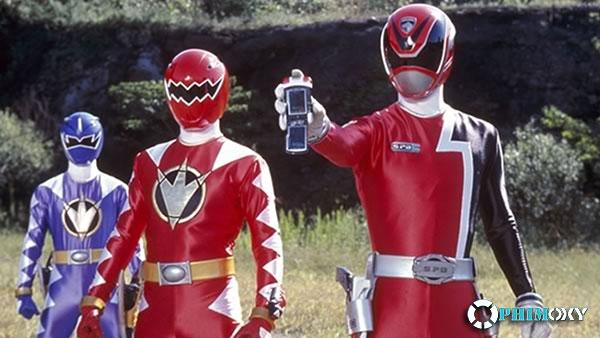 Sieu Nhan Canh Sat Deka Vs Sieu Nhan Khung Long Sam Set Tokusou Sentai Dekaranger Vs Abaranger 2015 1