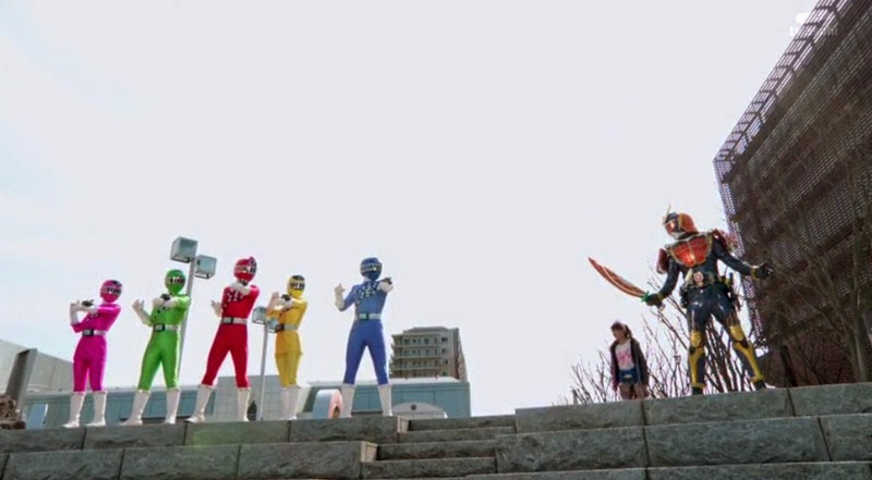 Toqger Vs Kamen Rider Gaim 2014